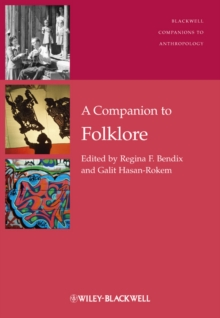 A Companion to Folklore, Hardback Book