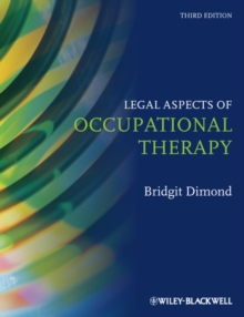 Legal Aspects of Occupational Therapy, Hardback Book
