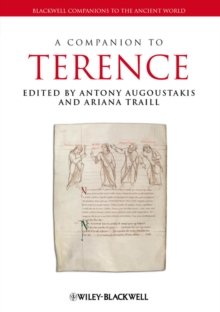 A Companion to Terence, Hardback Book