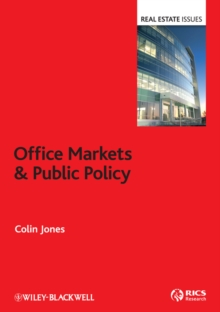 Office Markets and Public Policy, Hardback Book