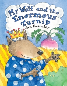 Mr Wolf and the Enormous Turnip, Paperback Book