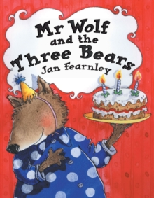 Mr. Wolf and the Three Bears, Paperback Book