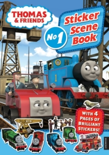 Thomas & Friends: Sticker Scene Book, Paperback Book