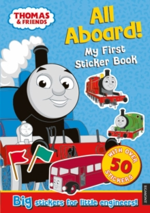 Thomas the Tank Engine All Aboard! My First Sticker Book, Paperback Book