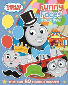 Thomas The Tank Engine  Funny Faces Sticker Book : `, Paperback / softback Book