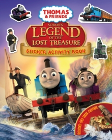 Sodor's Legend of the Lost Treasure  Thomas Movie Sticker Book, Paperback Book