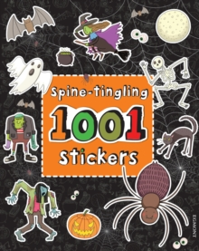 Spine-tingling 1001 Stickers, Paperback Book