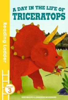 A Day in the Life of Triceratops, Paperback Book
