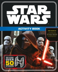 Star Wars The Force Awakens: Activity Book with Stickers, Paperback Book