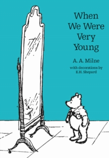 When We Were Very Young, Hardback Book