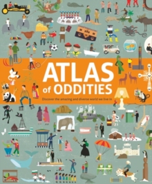 Atlas of Oddities, Hardback Book