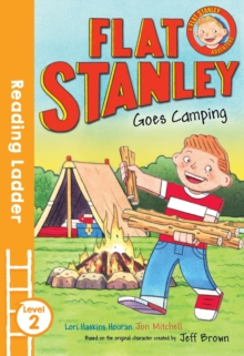Flat Stanley Goes Camping, Paperback Book