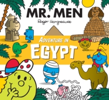 Mr. Men Adventure in Egypt, Paperback Book