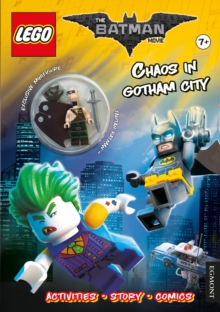 The LEGO (R) BATMAN MOVIE: Chaos in Gotham City (Activity book with exclusive Batman minifigure), Paperback Book
