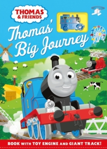Thomas & Friends: Thomas' Big Journey : Book with toy engine and giant track!, Hardback Book