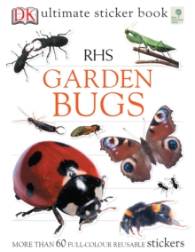 RHS Garden Bugs Ultimate Sticker Book, Paperback Book