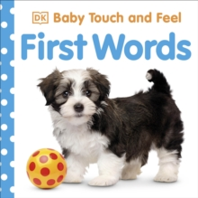 Baby Touch and Feel First Words, Board book Book
