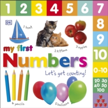 Numbers Let's Get Counting, Board book Book