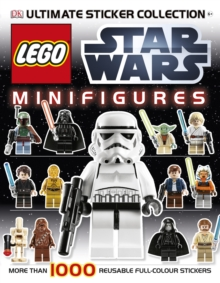 LEGO Star Wars Minifigures Ultimate Sticker Collection, Paperback Book