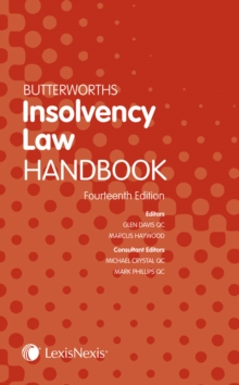Butterworths Insolvency Law Handbook, Paperback Book