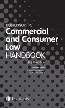 Butterworths Commercial and Consumer Law Handbook, Paperback / softback Book