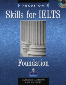 Focus on Skills for IELTS Foundation Book and CD Pack, Mixed media product Book