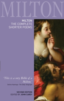 Milton: The Complete Shorter Poems, Paperback / softback Book