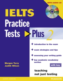 IELTS Practice Tests Plus 2 with Key and CD Pack, Mixed media product Book