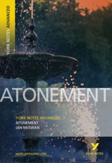 Atonement: York Notes Advanced, Paperback Book