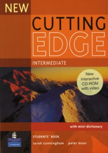 New Cutting Edge Intermediate Students Book and CD-Rom Pack, Mixed media product Book