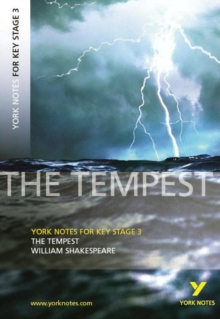 York Notes for KS3 Shakespeare: The Tempest, Paperback / softback Book