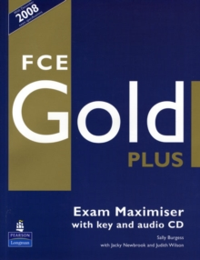 FCE Gold Plus Maximiser and CD and Key Pack, Mixed media product Book