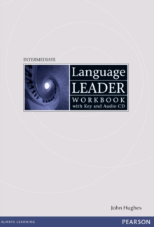 Language Leader Intermediate Workbook with Key and Audio CD Pack, Mixed media product Book