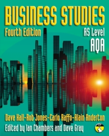 Business Studies for AQA: AS level, Paperback / softback Book