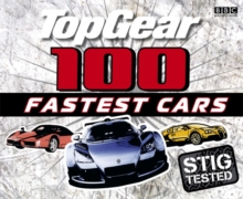 Top Gear: 100 Fastest Cars, Hardback Book