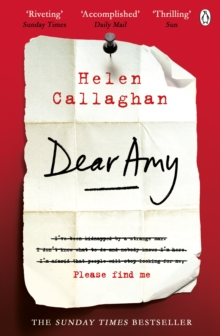 Dear Amy : The Sunday Times Bestselling Psychological Thriller, Paperback / softback Book