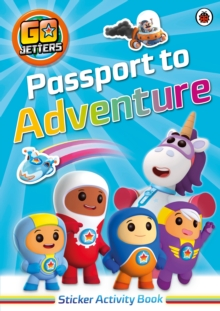 Go Jetters: Passport to Adventure! Sticker Activity Book, Paperback Book