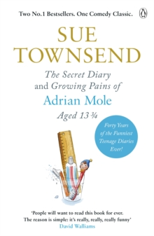The Secret Diary & Growing Pains of Adrian Mole Aged 13 3/4, Paperback Book