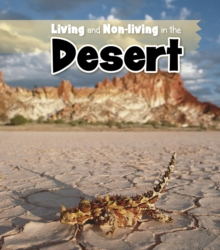 Living and Non-living in the Desert, Paperback Book