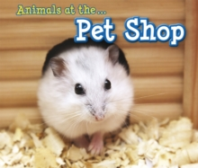 Animals at the Pet Shop, Paperback Book