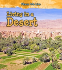 Living in a Desert, Hardback Book