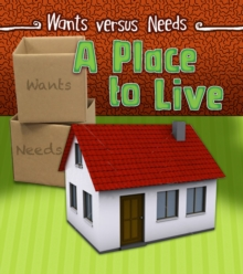 A Place to Live, Hardback Book