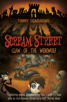 Scream Street 6: Claw of the Werewolf, Paperback Book