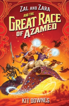 Zal and Zara and the Great Race of Azamed, Paperback Book