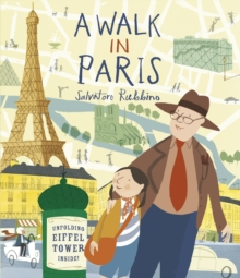 A Walk in Paris, Hardback Book