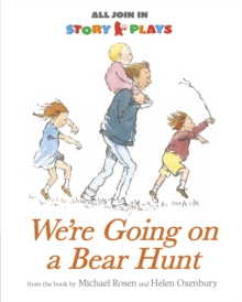 We're Going on a Bear Hunt Story Play, Paperback Book