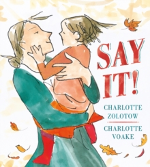 Say it!, Hardback Book