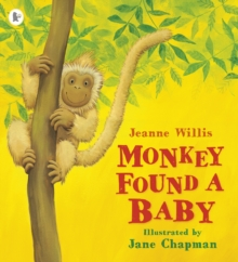 Monkey Found a Baby, Paperback Book