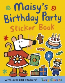 Maisy's Birthday Party Sticker Book, Paperback Book