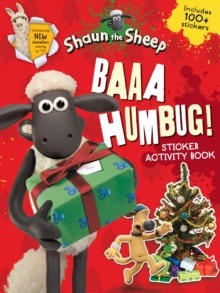Baaa Humbug! A Shaun the Sheep Sticker Activity Book, Paperback Book